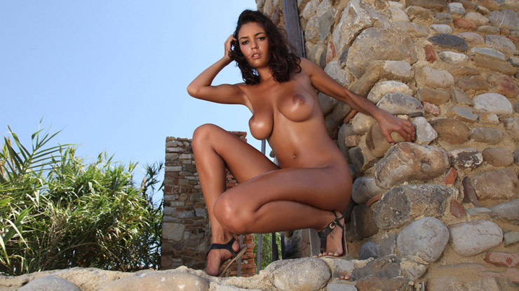 Rock Wall Nude