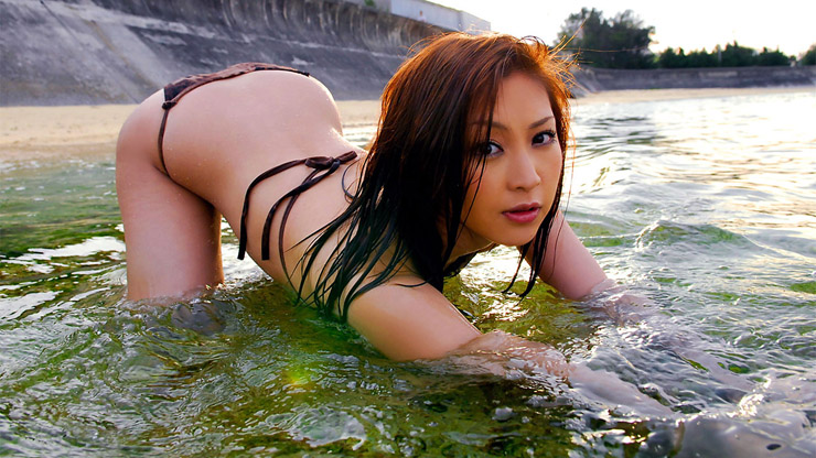 bikini asian model